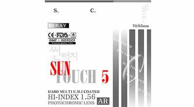 Covis Sun Touch 5 Photochromic Астигматика