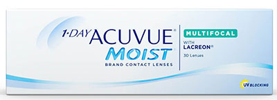 Мультифокальные 1 Day Acuvue Moist Multifocal, Johnson & Johnson